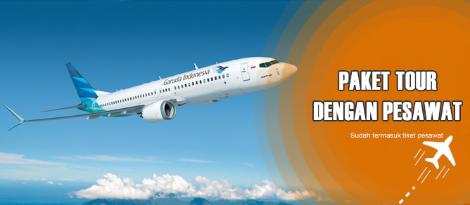 Paket Tour Bali dengan Pesawat Terbang