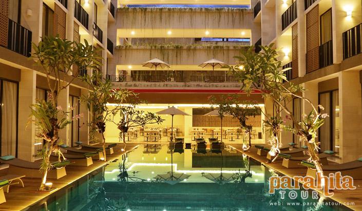 Terrace at Kuta Hotel
