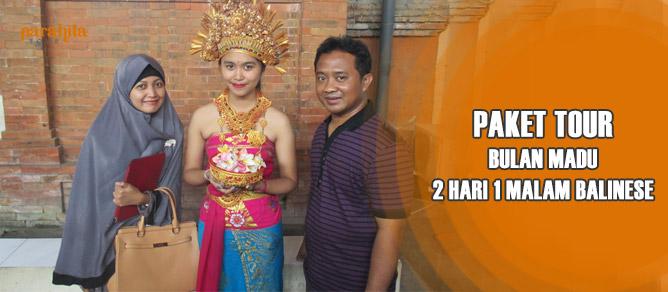 Bulan Madu 2 Hari 1 Malam Balinese