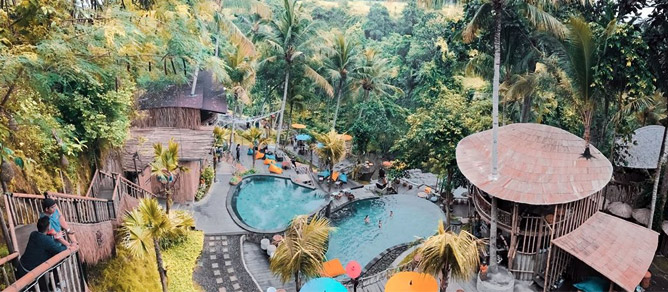 D'Tukad River Club Bali, Tempat Wisata Yang Paling Kece