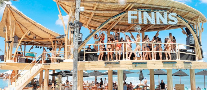 Finns Beach Club, Terkeren yang Cocok Untuk Bersantai