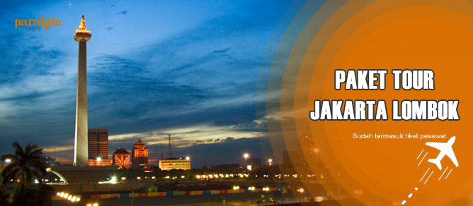 Paket Tour ke Lombok Pesawat dari Jakarta