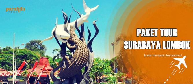 Paket Tour ke Lombok Pesawat dari Surabaya