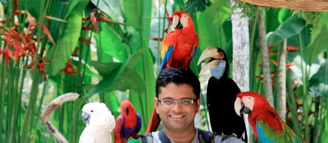 Taman Bali Bird Park