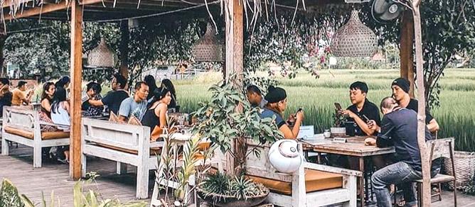 Nook Restaurant tempat kuliner Outdoor Bali Yang Wajib di Kunjungi